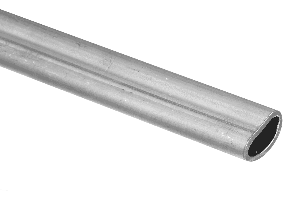 D-shaped tube